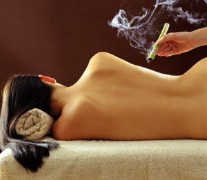Moxa therapie