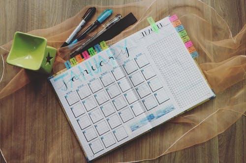 weekplanning app